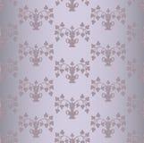 Muster mit lila Blumen Stockfoto