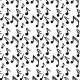 Muster mit Musik Lizenzfreie Stockfotografie