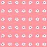 Muster mit nettem Blumen-Hintergrund stellten groß für jeden möglichen Gebrauch ein Vektor eps10 stock abbildung