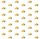 Muster mit Orangen Lizenzfreies Stockbild