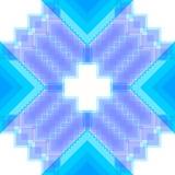 Muster mit Quadraten und Rauten Stockfotos