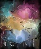 Muster mit Rosen Stockfotografie