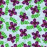 Muster mit Schmetterlingen stock abbildung