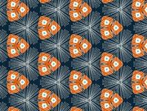 Muster mit Streifen Stockbild