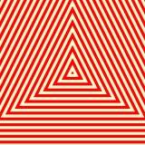 Muster mit symmetrischer geometrischer Verzierung Stockbild