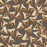 Muster mit traditionelles purim dreieckigem Gebäck angefüllt mit Feigen stockbild