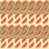 Muster mit Wassermelone Stockbilder