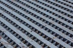 Muster oder Hintergrund eines rostigen Stahls lizenzfreies stockbild