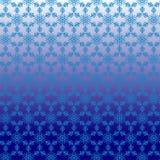 Muster ohne Naht von der weißen Schneeflocke Stockfotos