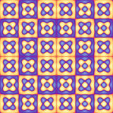 Muster Ornamentalfliesen Stockfotos
