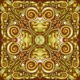 Muster quadrate Lizenzfreies Stockbild