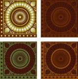 Muster quadrate Lizenzfreie Stockfotografie