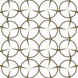 Muster Regelmäßiges Schwarzweiss-Vorhangmuster ausgerichtet in den Eiern Reiche Musterhalbtonillustration Abstraktes Fractalschwa Stockfotografie