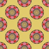 Muster round3 Lizenzfreie Stockfotografie