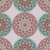 Muster rund Stockbilder