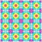 Muster 70s Stockbild