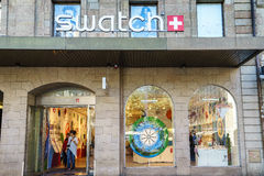Muster-Shop Lizenzfreie Stockfotos
