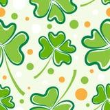 Muster Tages des Str.-Patricks Stockfoto