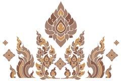 Muster Thailand Lizenzfreie Stockbilder
