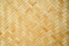 Muster und Auslegung des siamesischen Artbambusses handcraft Stockbilder