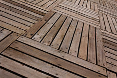 Muster und Beschaffenheiten von hölzerne Planken Lizenzfreie Stockfotos