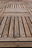 Muster und Beschaffenheiten von hölzerne Planken Stockfotografie
