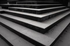 Muster und Formen, Jobstepps und Treppen Lizenzfreie Stockfotos