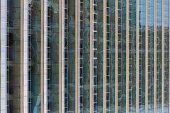 Muster und Linien im Gebäude Lizenzfreies Stockfoto