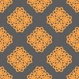 Muster-Vektorfliese der Verzierung bunte Lizenzfreies Stockfoto