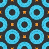 Muster-Vektorfliese der Verzierung bunte Stockbild