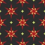 Muster-Vektorfliese der Verzierung bunte Lizenzfreie Stockfotos