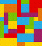 Muster-Vektorillustration des Blockes nahtlose Lizenzfreies Stockfoto