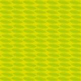 Muster-Vektortapete der gelben Feder nahtlose Stockbild