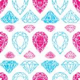 Muster vom Diamanten Stockfotografie