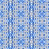 Muster von abstrakten Farbblumen vektor abbildung