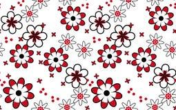Muster von Blumen. Stockfotografie
