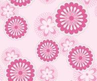 Muster von Blumen. Stockfoto