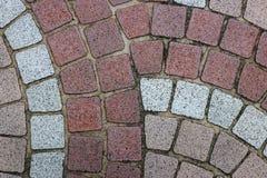 Muster von Bodenfliesen für Hintergrund Stockbilder