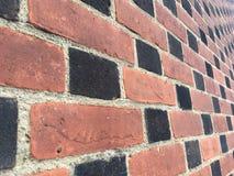 Muster von brickwall Stockbild