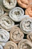 Muster von buntem des Wäschetuches Stockbilder
