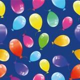 Muster von den bunten Ballonen Lizenzfreies Stockbild