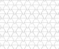 Muster von den Dreiecklinien enthalten mit verschiedenen Größen von tria Stockbild