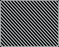Muster von Diamanten auf einem schwarzen Hintergrund stock abbildung