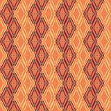 Muster von farbigen Diamanten Lizenzfreie Stockbilder