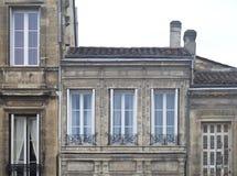 Muster von Fenstern Stockbilder