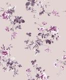 Muster von Frühlingsblumen und -niederlassungen Lizenzfreie Stockfotos