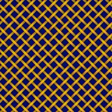 Muster von goldenen Borten auf einem blauen Hintergrund stockbild