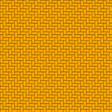 Muster von Korbwaren Stockbild