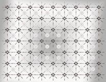 Muster von Löffeln und Gabeln und Platte lizenzfreies stockbild