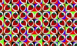 Muster von mehrfarbigen Quadraten Lizenzfreies Stockfoto